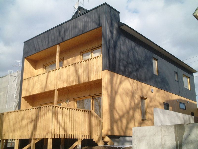 屋内外の温度差を利用した計画換気に守られた家