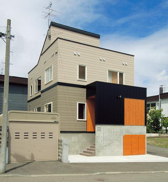 パッシブ換気床下暖房システムの2世帯住宅