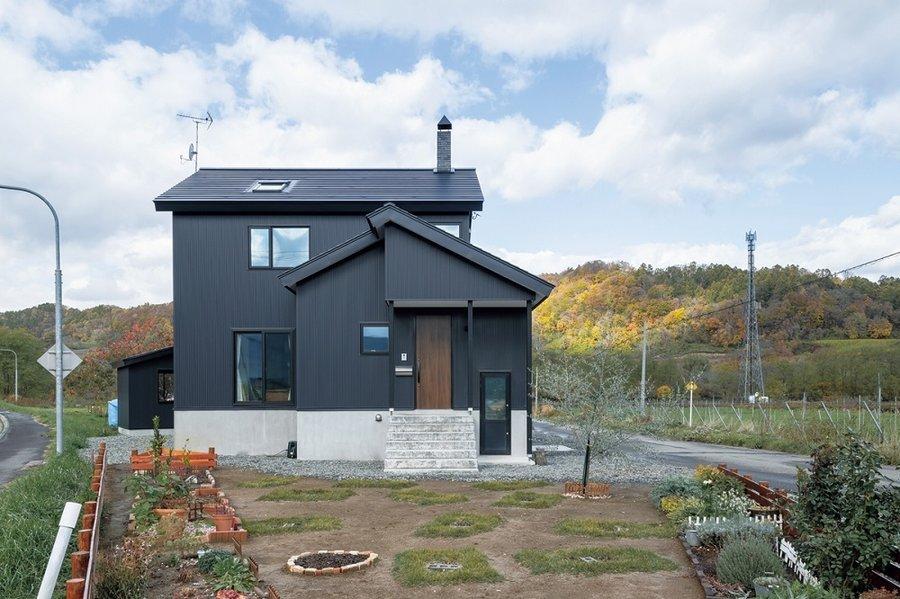 薪ストーブ1台で生活する、田舎暮らしの家