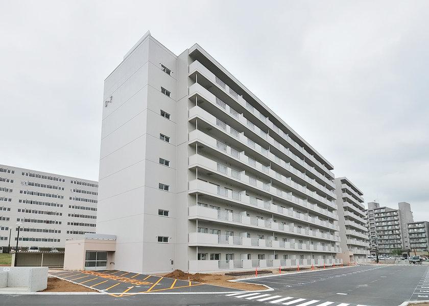 公営住宅(下野幌団地D-7号棟)