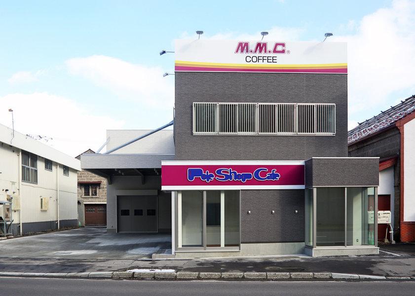 日商物産 三本コーヒー小樽支店